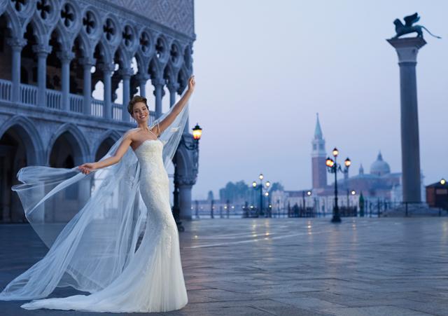 Pronovias 2013 Ad Campaign shot in Venice