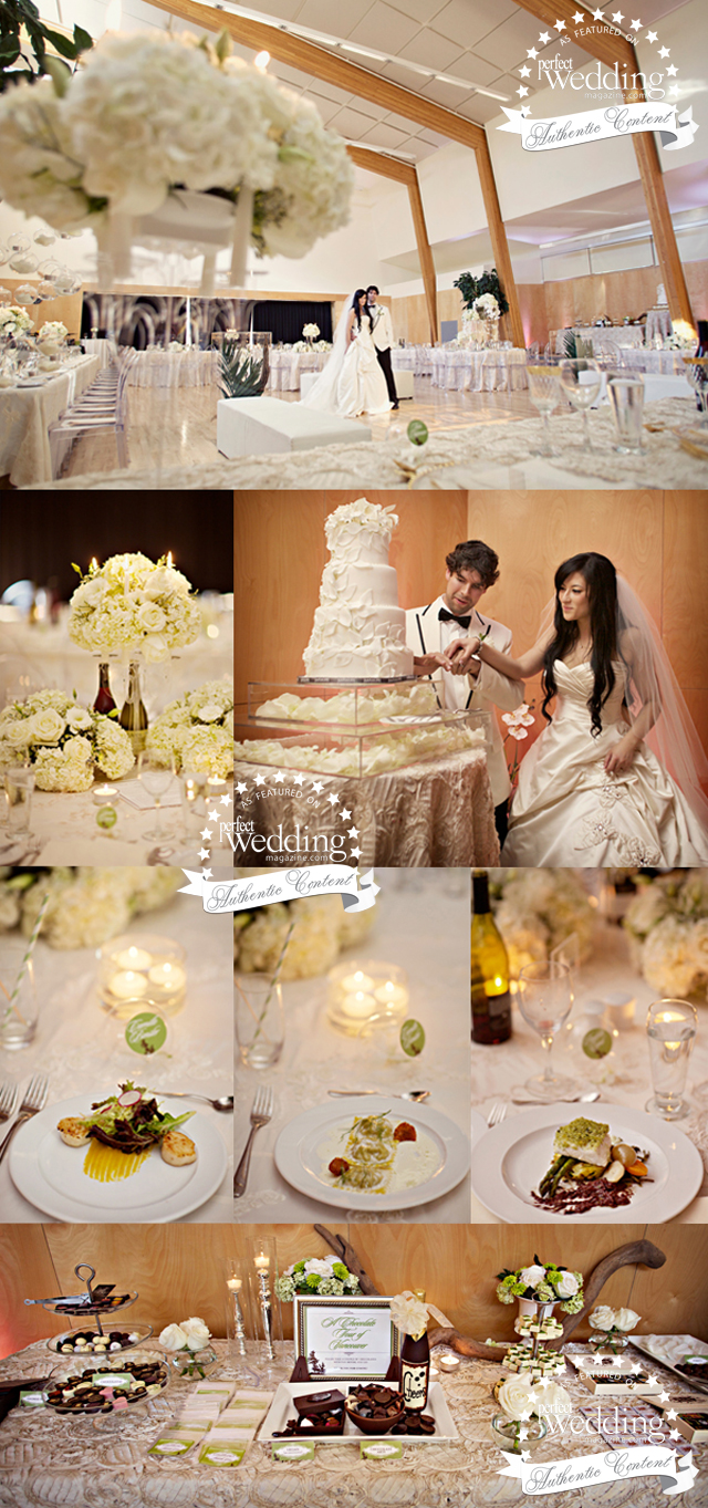 Allie and Allan feature in Perfect Wedding Magazine
