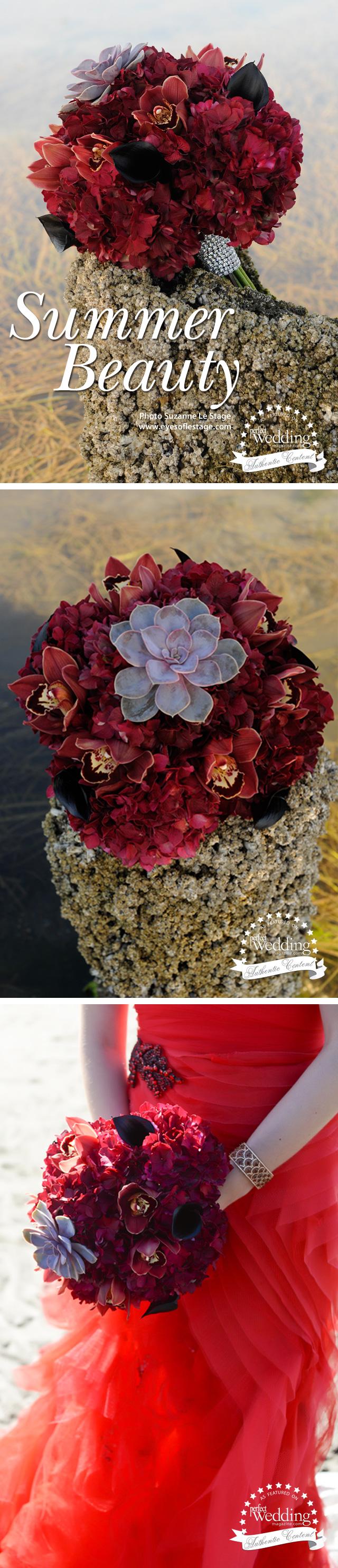 Summer Bouquet, Perfect Wedding Magazine