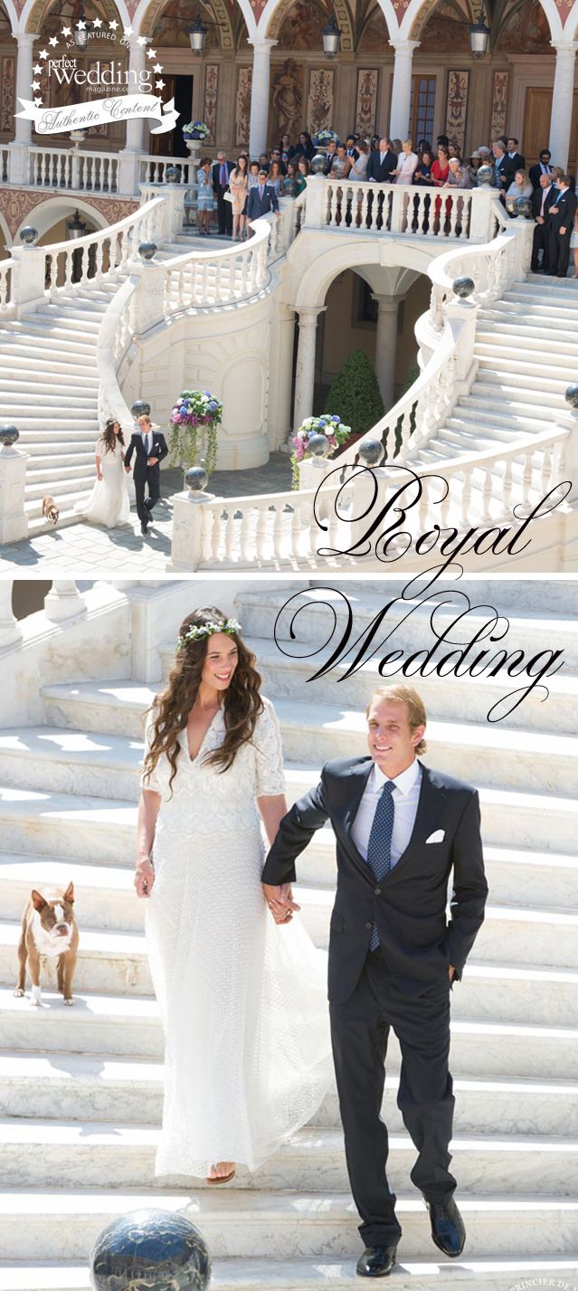 Andrea Casiragui & Tatiana Santo Domingo Wedding in Monaco