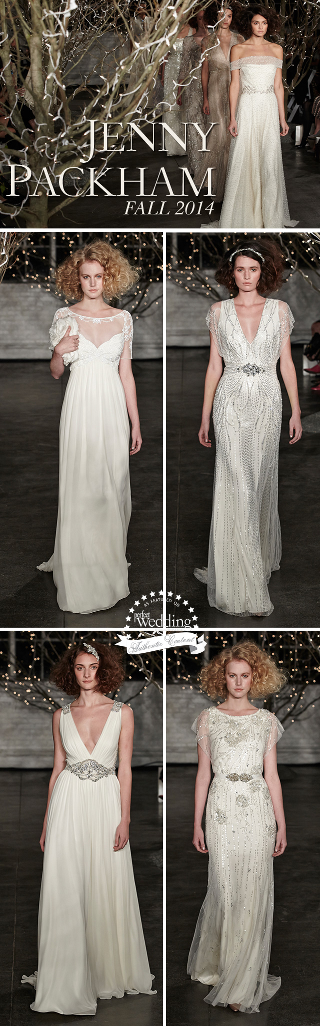 Jenny Packham, 2014 Bridal Collection, Perfect Wedding Magazine, Bridal Fashion, Bridal FashionWeek, New York