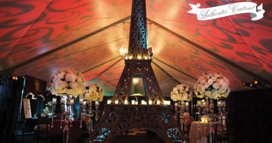 Paris theme, Wedding Décor, Perfect Wedding magazine, Fall Winter issue