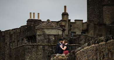Scotland, Wedding Anniversary Portrait, Rowell Photo, Perfect Wedding magazine