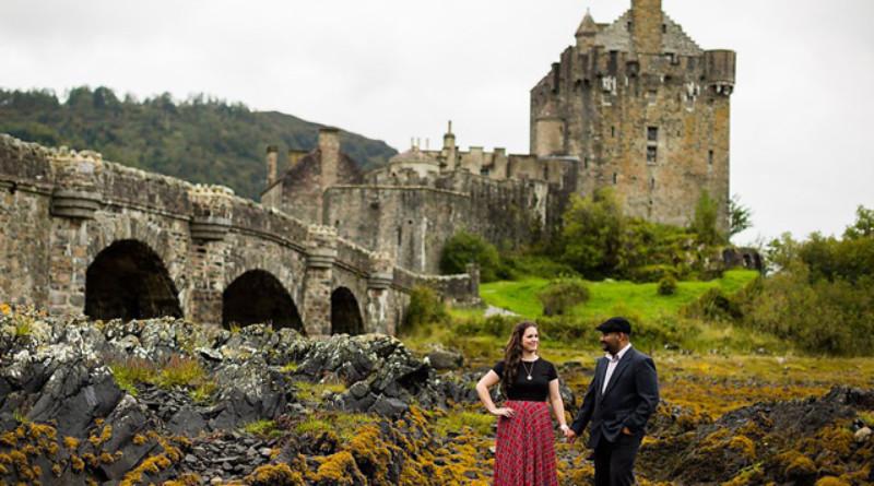 Scotland, Wedding Anniversary Portrait, Rowell Photo, Perfect Wedding magazine