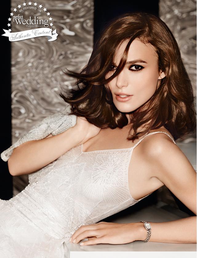 Chanel, Chanel Coco Madeimoiselle, Perfect Wedding Magazine, Perfect Wedding magazine blog, Keira Knightly, Mario Testino