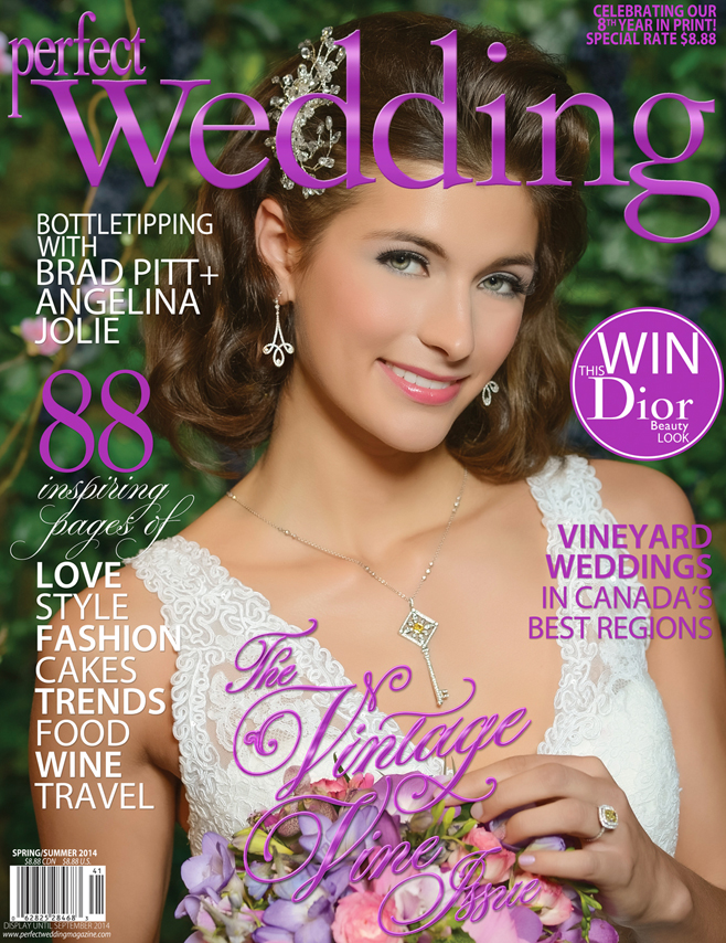 Perfect Wedding's The Vintage Vine Issue for Spring/Summer 2014