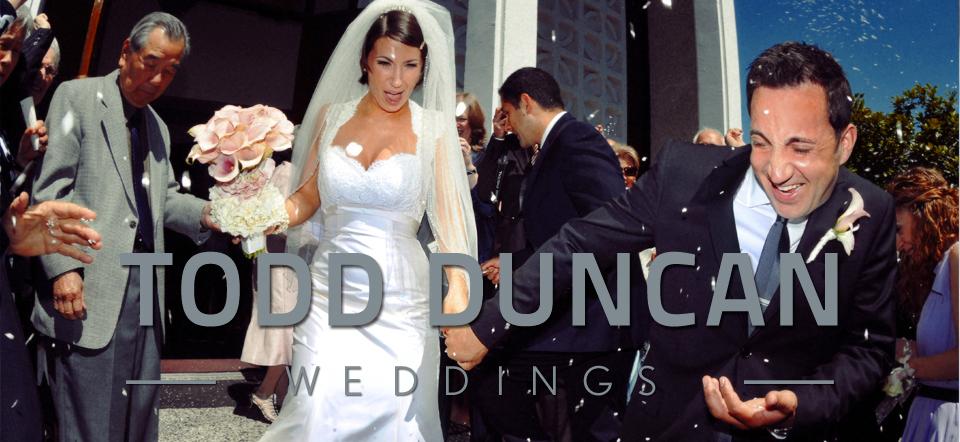 Todd Duncan Weddings