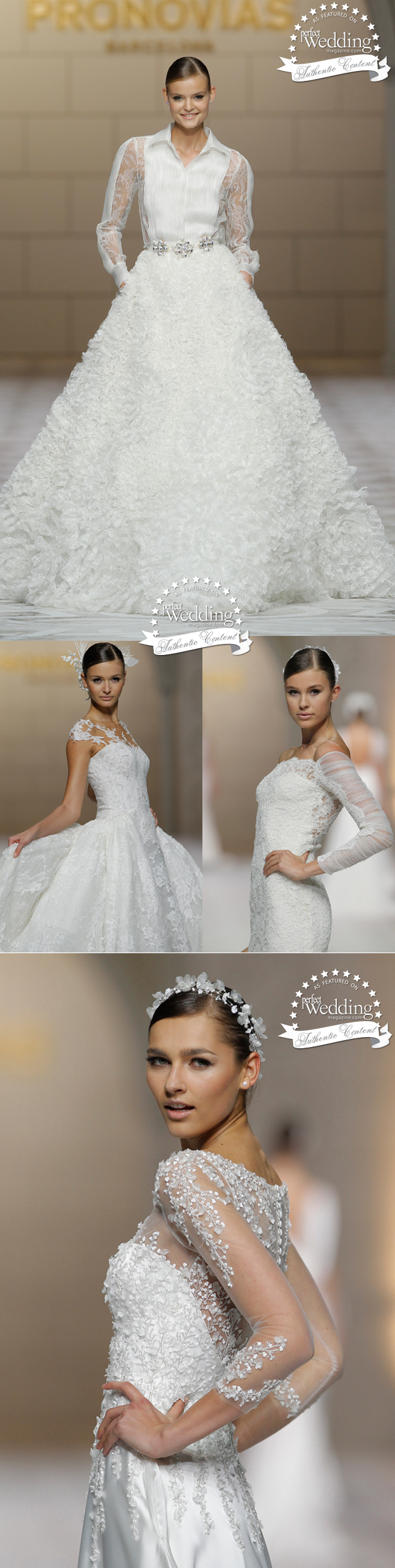 Pronovias, Pronovias 50th Anniversary, Atelier Pronovias, Perfect Wedding Magazine
