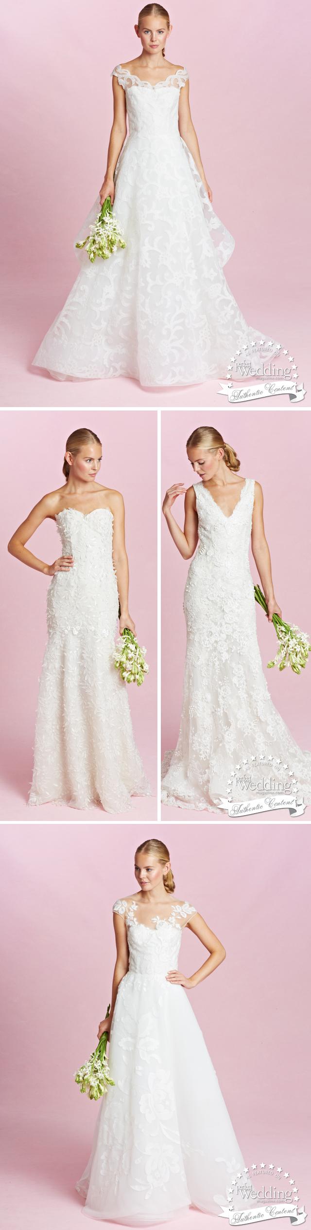 Oscar de la Renta, Oscar de la Renta Fall 2015 Bridal Collection, Fall Bridal Trends, Perfect Wedding Magazine, Perfect Wedding Magazine Blog
