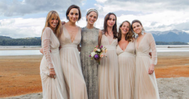 Alexandre de Betak, Sofia Sanchez Barrenechea, Sofia Sanchez Barrenechea Wedding, Sofia Sanchez Barrenechea Bridesmaids, Bridesmaids, Fashion, Style, Patagonia, Weddings in Patagonia, Delphine Manivet , Perfect Wedding Magazine