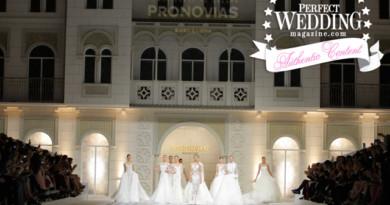Pronovias 2016 Fashion Show on Perfect Wedding Magazine