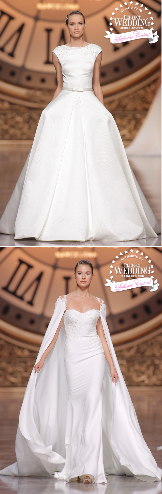 Pronovias, PRONOVIAS FASHION SHOW 2016,Pronovias Atelier 2016 Collection, Fashion, Bridal Trends, Perfect wedding Magazine