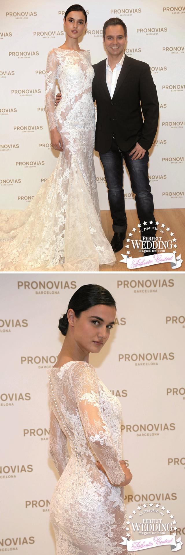 Pronovias, Pronovias 2016 Atelier Collection, Barcelona, Fashion, Bride