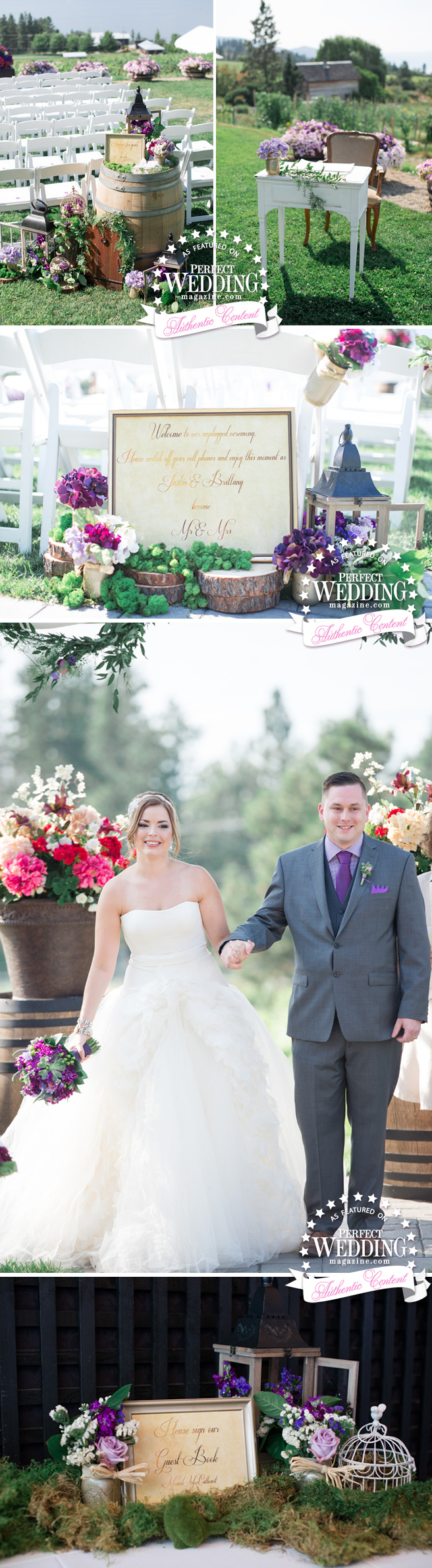 Perfect Love, Perfect Wedding Magazine, Secret Garden, Vera Wang Bride, Blush Occasions, Perfect Wedding Magazine blog, Okanagan Weddings