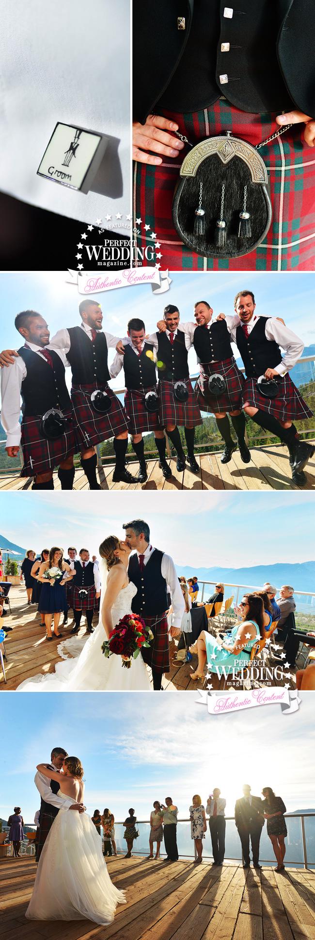 Sea to Sky wedding celebration