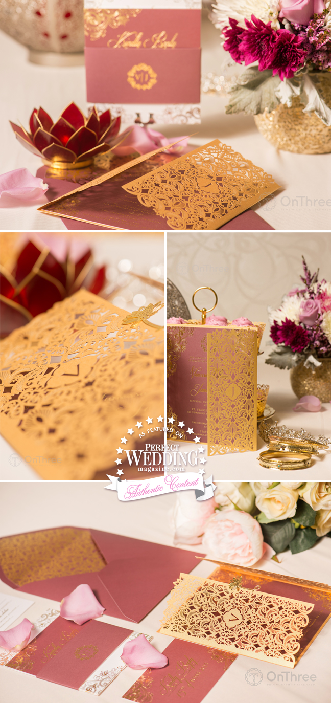 VANESSA WILLIAMS ~ WEDDING STATIONERY - Perfect Wedding Magazine