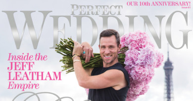 Perfect Wedding's BLOSSOMING 'Official Cover Launch' with JEFF LEATHAM