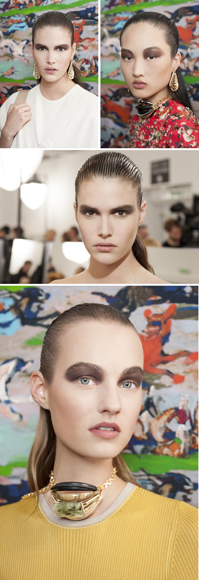 Backstage, Dior Cruise 2017, Dior Makeup, Dior Beauty, Peter Philips, Dior Show, Dior, Perfect Wedding Magazine, Perfect Wedding Blog, Bridal Beauty, Beauty Trends