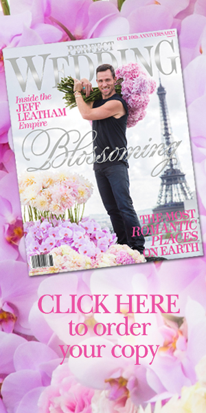 Jeff Leatham exclusive for BLOSSOMING Perfect Wedding Magazine
