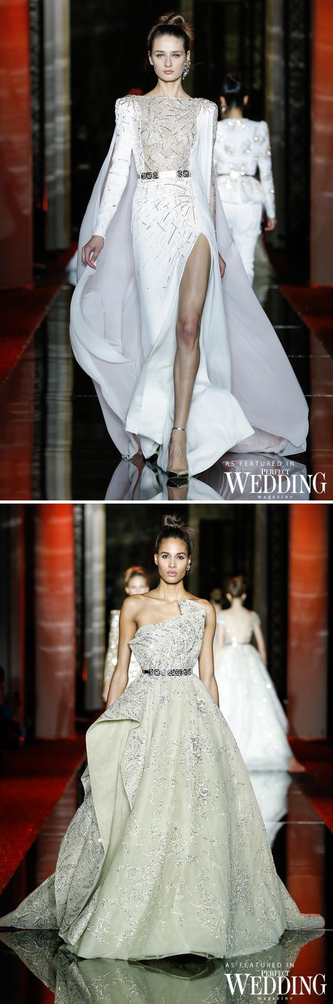 Zuhair Murad, Zuhair Murad Bride, Zuhair Murad Spring Summer 2017 Haute Couture, Paris Fashion Week, Couture Week, Perfect Wedding Magazine, Perfect Wedding Blog, Fires Waltz, Bridal Trends