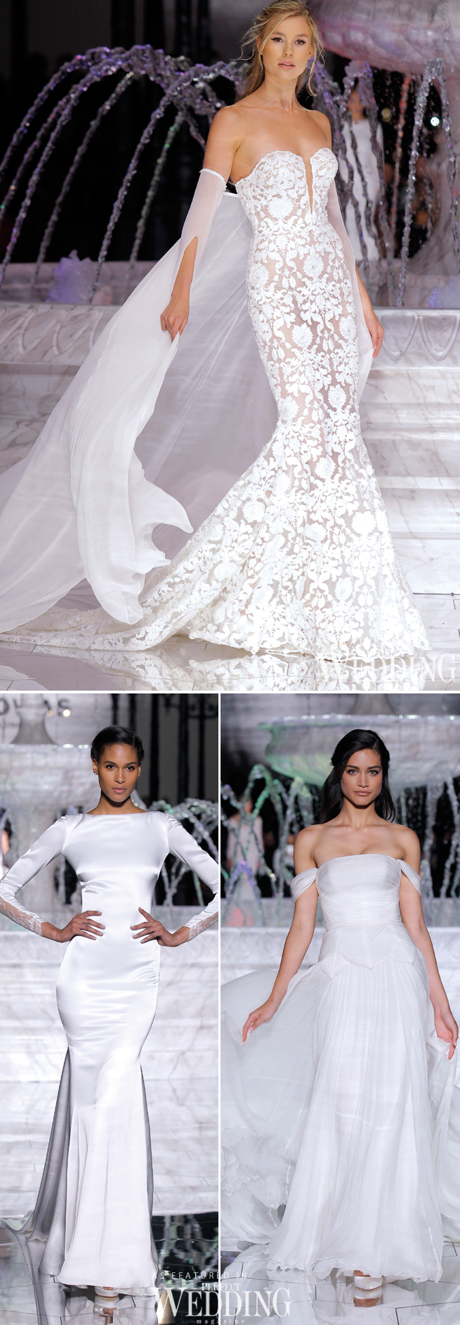 Pronovias, Atelier Pronovias 2018, Pronovias Fashion Show, Hervé Moreau, Perfect Wedding Magazine, Perfect Wedding Blog, Barcelona Bridal Trends