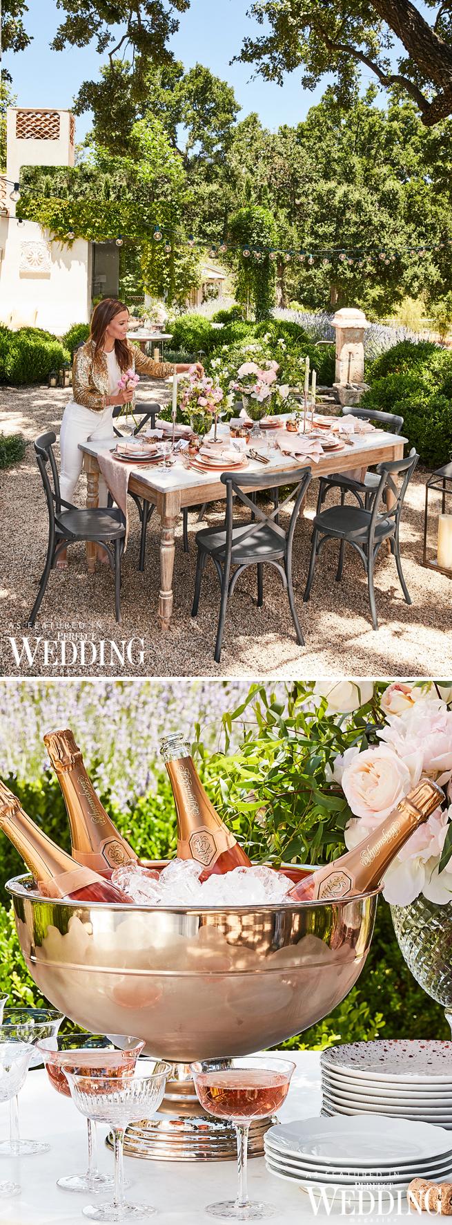 Bridal Registry, Monique Lhuillier, New York Bridal Market, Perfect Wedding Magazine, Perfect Wedding Blog, Monique Lhuillier for Pottery Barn, Wedding Registry