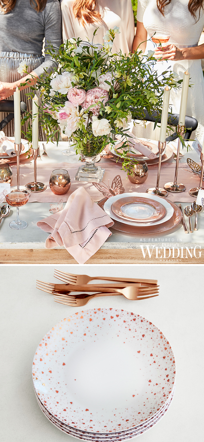 Monique lhuillier for pottery barn wedding registry perfect bridal registry monique lhuillier new york bridal market perfect wedding magazine perfect junglespirit Image collections