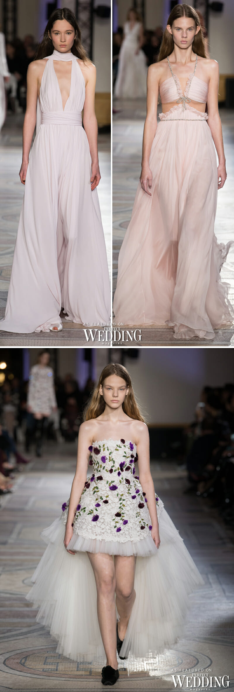GIAMBATTISTA VALLI SPRING 2018 HAUTE COUTURE - Perfect Wedding Magazine