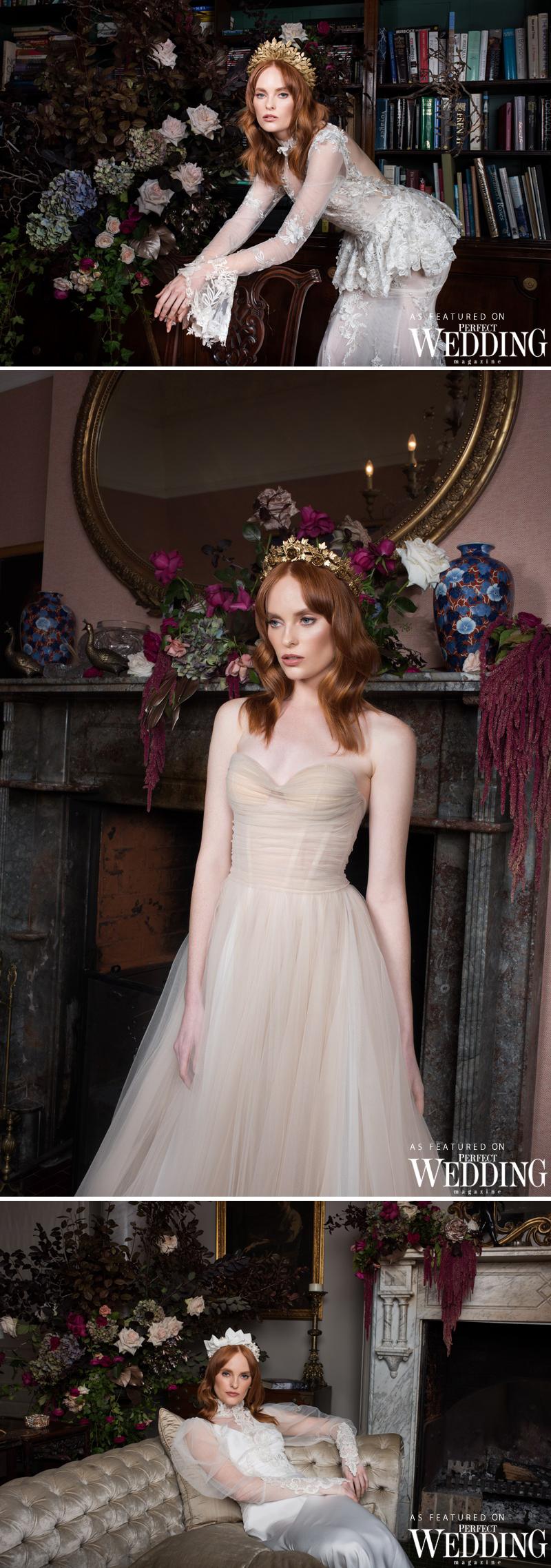 Viktoria Novak, Viktoria Novak Immortal Renaissance, Bridal Milliner, Perfect Wedding Magazine, Perfect Wedding Blog
